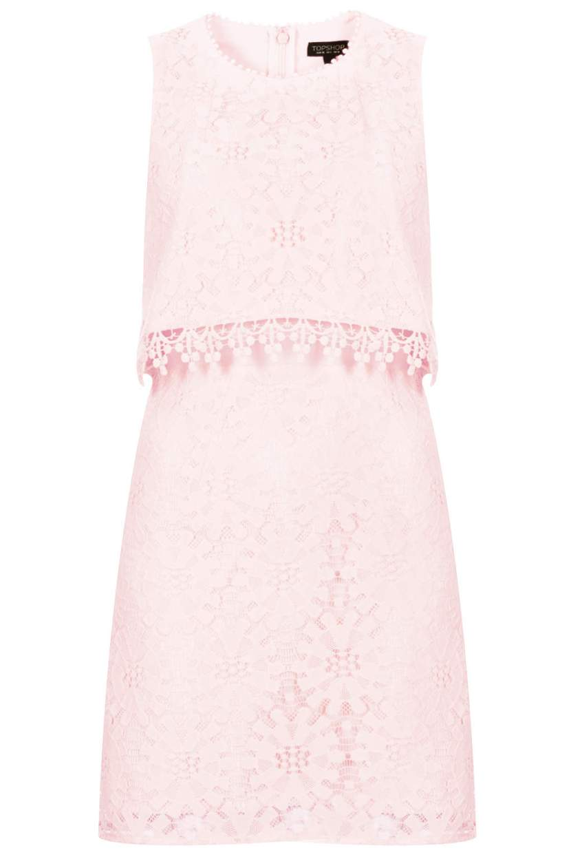 Dress of the Day: Topshop Wheel Lace Crop Dress